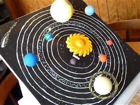 maqueta sistema solar movil my crafts and diy projects