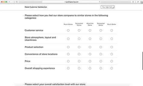 customer satisfaction templates survey templates