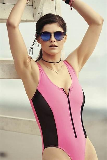 Daddario Alexandra Bikini Under Collar