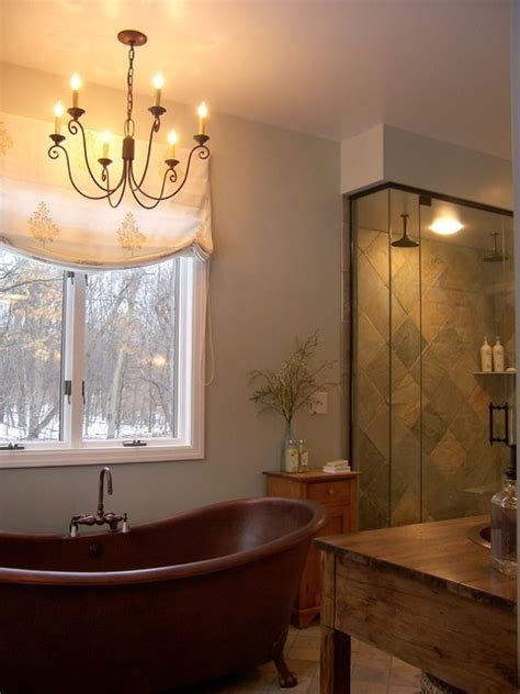 Elegant Rustic Master Bathroom  Rustic  Bathroom Grand