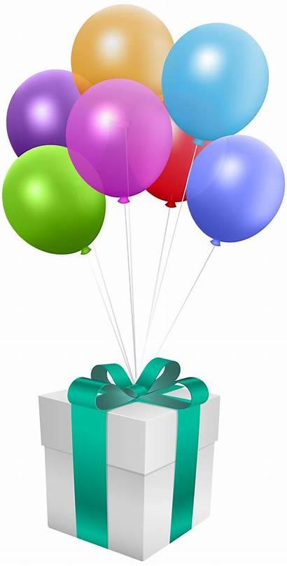 Balloons Birthday Balloon Transparent Gift Happy Clipart