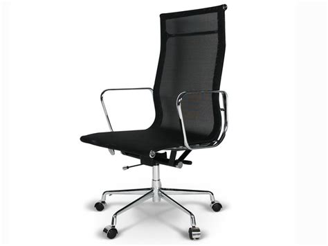 chaise de bureau eames the vitra ea 108 aluminium chair