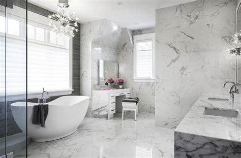 Modern Marble Bathroom by Calcatta Marble Bathroom Tiles Contemporary Bathroom