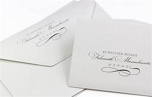elegant wedding envelopes 100 cotton custom printed With return address envelopes for wedding invitations