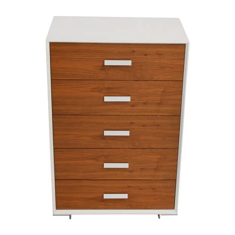 59% Off  Custom White And Light Wood Fivedrawer Dresser. Redford House. Faucet Factory. Dolphin Pool Supply. White Ice Appliances. Stucco House Colors. Dresser With Tv Stand. Plate Display. Striped Sofa