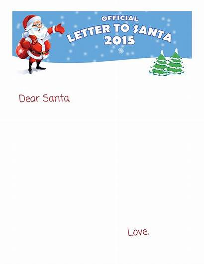 Santa Letters Editable Blank Letter Template Templates