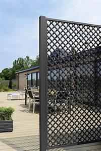 Claustra Interieur Pas Cher : panneau bois jardin pas cher 3 brise vue pour terrasse survl com ~ Teatrodelosmanantiales.com Idées de Décoration