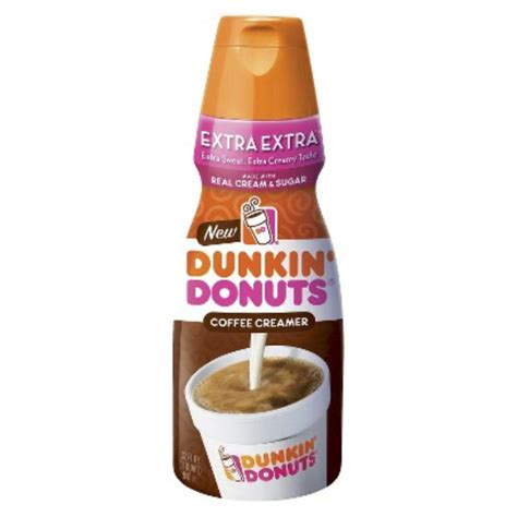 Choose from contactless same day delivery, drive up and more. White Wave/Horizon Dunkin Donuts Extra Extra Creamer 32oz Reviews 2020