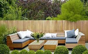 Trennwand Garten ModernModerne Terrasse Mit Sichtschutz