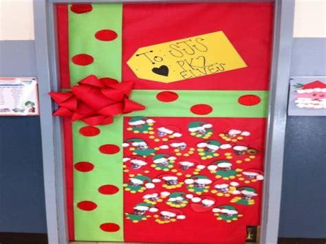 school christmas door decorations images