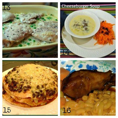 easy meal ideas easy dinner recipes