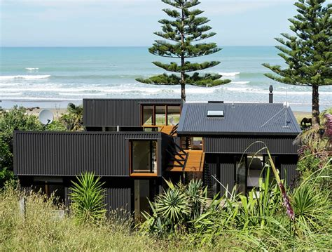 impact offset shed house   modern beach home