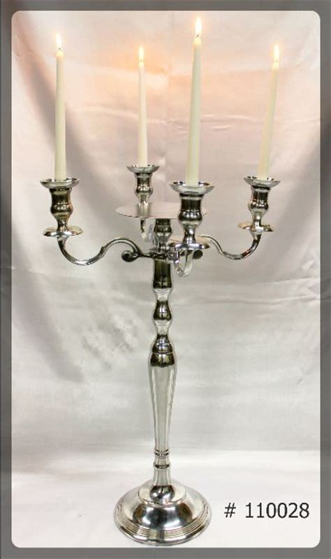 silver candelabras rentals toronto gta  ultimate
