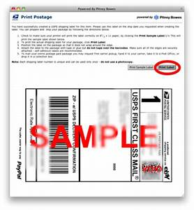 how to print shipping labels from paypal on a mac scott With how to print postage labels