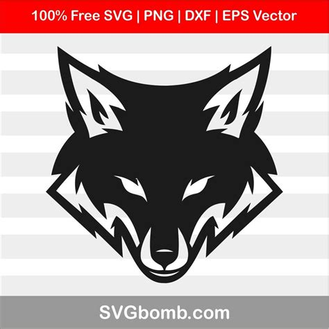 All others must contact chung deh tien at. Fox Head SVG Cut File For Cricut | SVGbomb.com