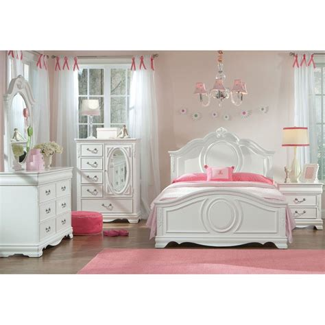 white traditional  piece twin bedroom set jessica rc