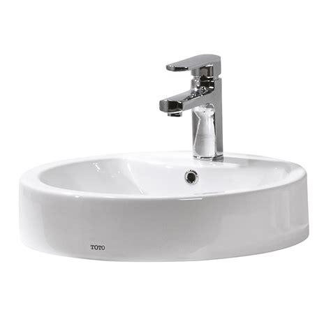 basins plumbing world toto santo  counter top basin
