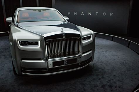 roll royce the rolls royce phantom is the most technologically