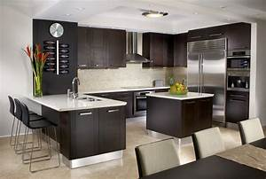 Breath taking kitchen interior design goodworksfurniture for Modern house interior design kitchen