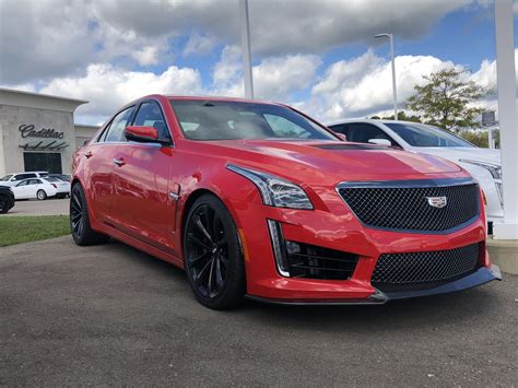 New Velocity Red Color For 2019 Ctsv First Look Gm