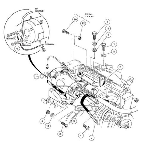 2004 2007 club car precedent gas or electric club car parts accessories