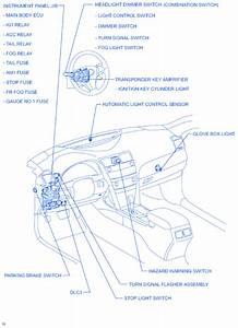 Toyota Camry Le 2002 Steeting Electrical Circuit Wiring Diagram