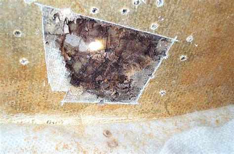 Fiberglass Boat Repair Large Hole by Rotten To The Core Fiberglass Core Repair Part Two
