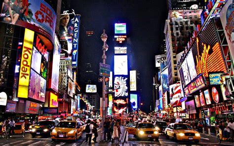 New York Time Square by HairJay fond ecran wallpaper hd background