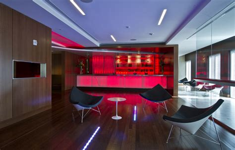 Office Bar by 7 Corporate Bars To Relax In After A Day At The