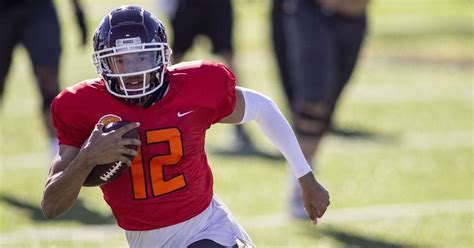 The qb has been playing like a top prospect all year. Kellen Mond reflects on Senior Bowl MVP performance