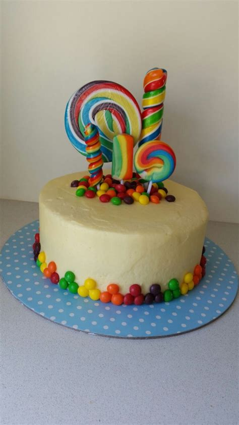 Cakes Decorated With Lollies by 25 Best Lolly Cake Ideas On Lollipop Cake