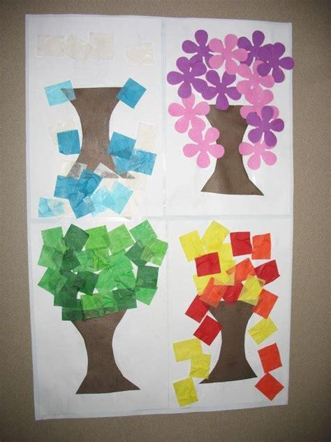 best 25 preschool seasons ideas on seasons 446 | bce75fd9023d6209472302d7672e51cc four seasons art seasons theme preschool