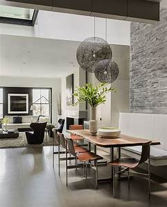 atrium house bsa design awards boston society of With suspension table salle a manger