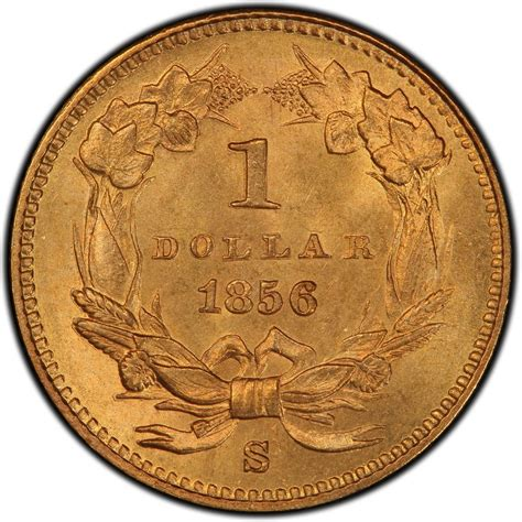 are gold dollars worth anything 1856 small head indian princess gold dollar values and prices past sales coinvalues com