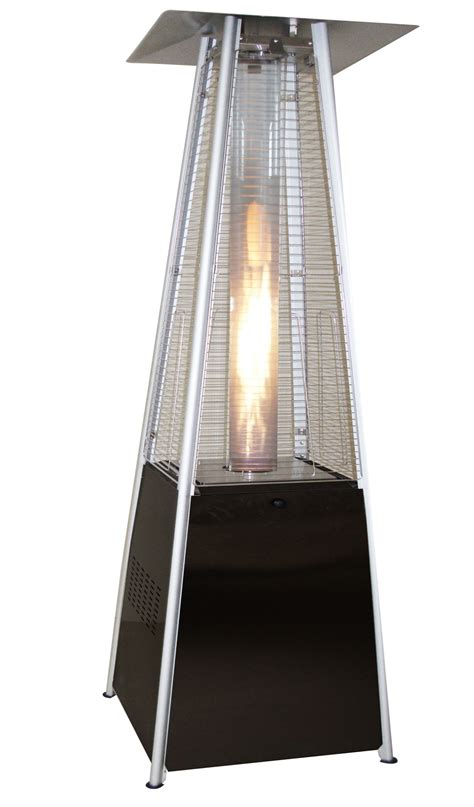 outdoor gas heater pyramid shape powder coated