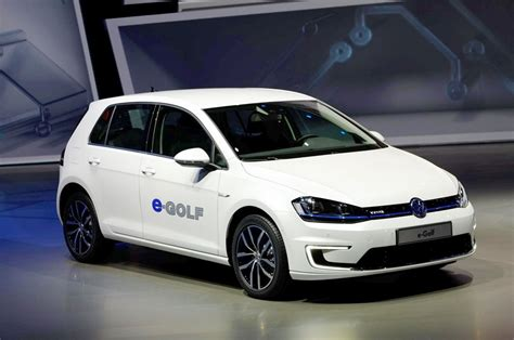 vw golf range of cars vw electric golf car launch soon with 300km range