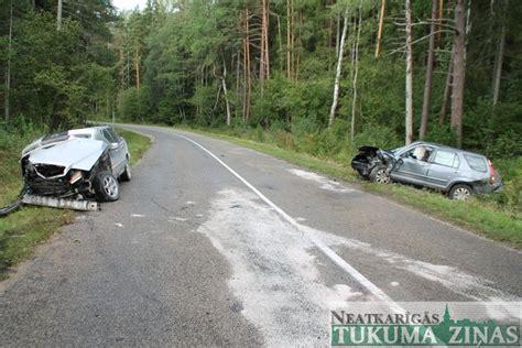 Avārija Engures novadā - NTZ