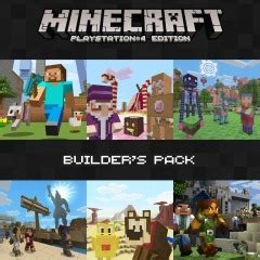 minecraft builders pack  ps official playstation