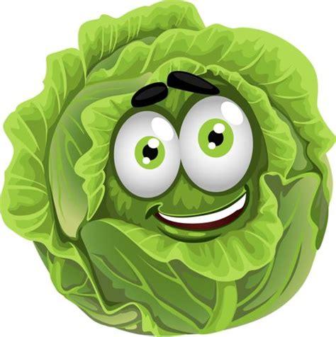 ustensiles cuisine enfants légumes rigolos laitue cliparts légumes