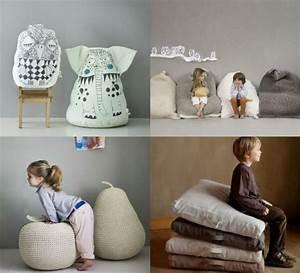 Pouf Poire Enfant : fauteuil pouf design pour un int rieur confortable ~ Teatrodelosmanantiales.com Idées de Décoration