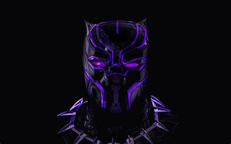 Black Panther Neon Artwork 5k Wallpapers  Hd Wallpapers