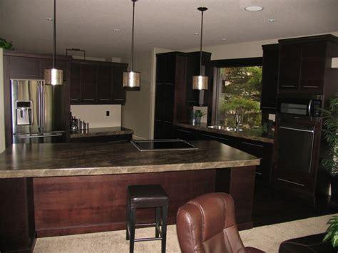 kitchen cabinets maple espresso countertops formica