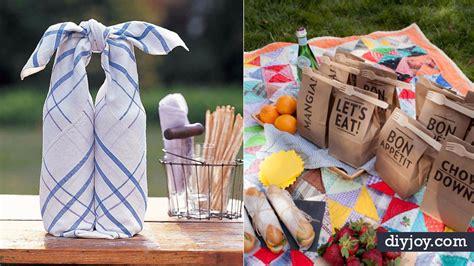 fun diy picnic ideas