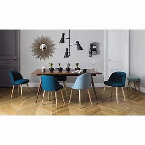 Chaise Vintage Maison Du Monde : chaise vintage bleue et bouleau massif maison du monde chaise vintage et miroirs ~ Melissatoandfro.com Idées de Décoration