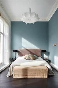 Tete De Lit Bleu : id es chambre coucher design en 54 images sur ~ Premium-room.com Idées de Décoration