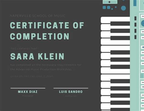 customize  student certificate templates  canva