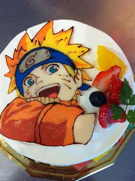 Naruto Anime Cake