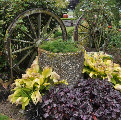 rustic garden features rustic garden feature gardening ideas pinterest