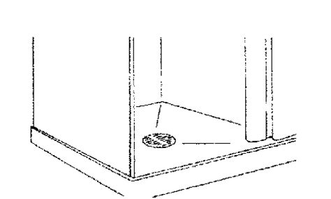 pp  shower drain grid fits  outlet installation