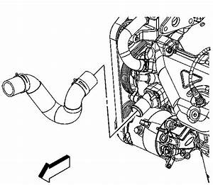 How To Unblock Fuel Line Inside 2001 Chrysler Prowler Gas